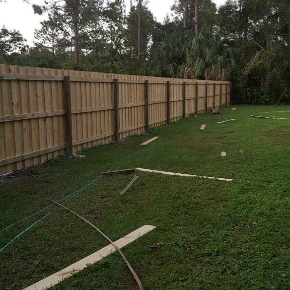 wood fencing repair irving texas