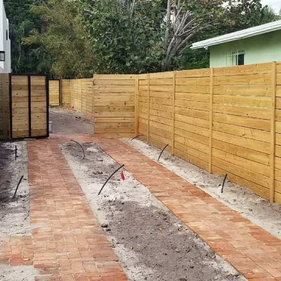 wood fence installation irving texas